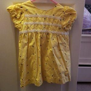 Baby boden dress/ sweater